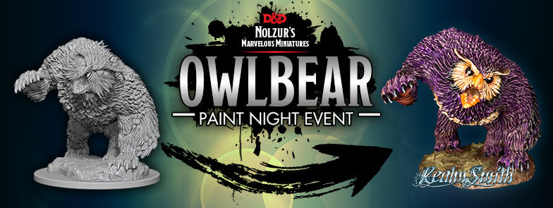 Press Release | Owlbear Mini Painting Special Event