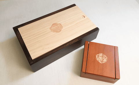 Twenty Sided Dice Boxes