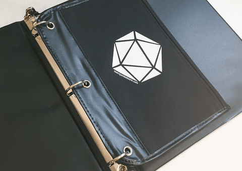 Twenty Sided DM Binder