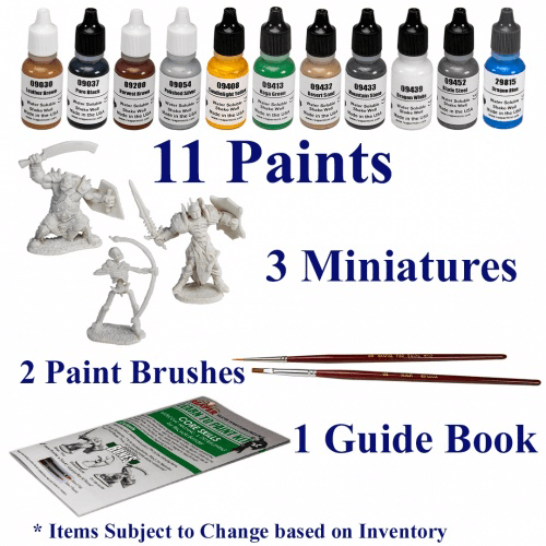 Paint Kit Reaper Learn to Paint : 08906 Core Skills
