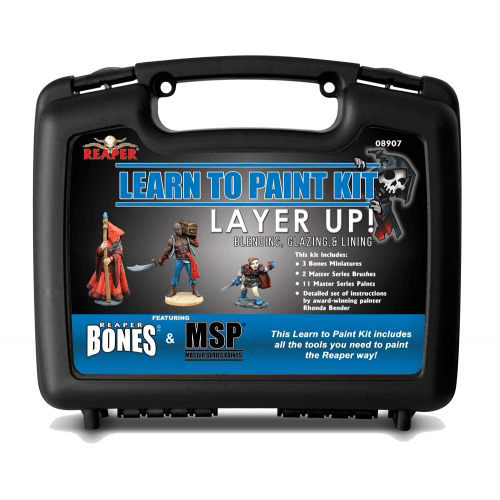 Paint Kit Reaper Learn to Paint : 08907 Layer Up!