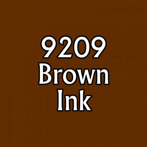 Paint (0.5oz) Reaper 09209 Brown Ink