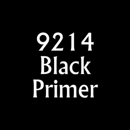 Paint (0.5oz) Reaper 09214 Black Primer