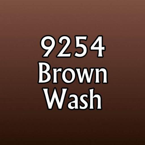 Paint (0.5oz) Reaper 09254 Brown Wash