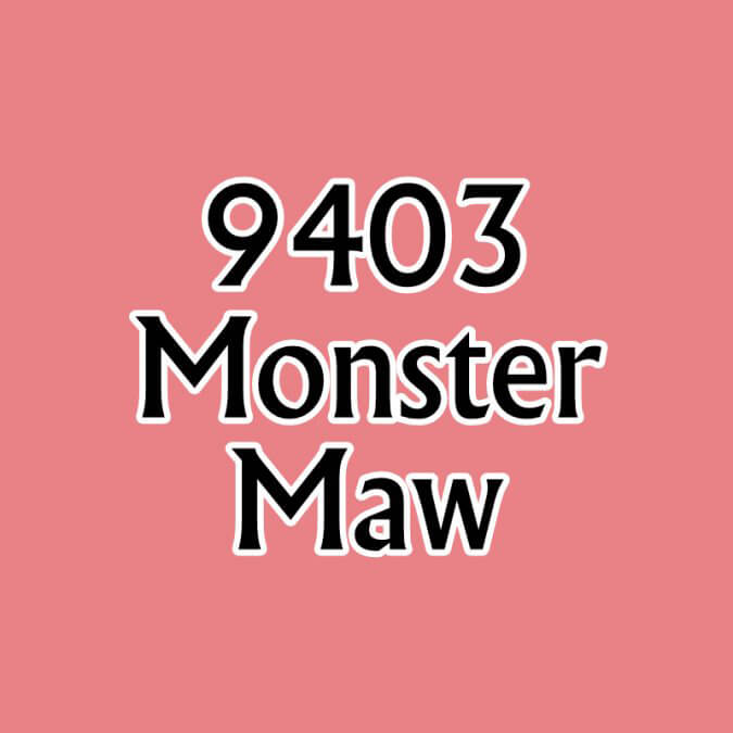 Paint (0.5oz) Reaper 09403 Monster Maw