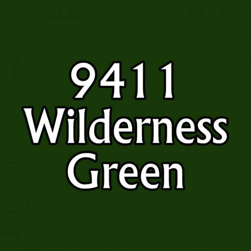Paint (0.5oz) Reaper 09411 Wilderness Green