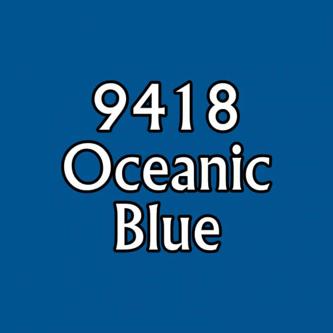 Paint (0.5oz) Reaper 09418 Oceanic Blue