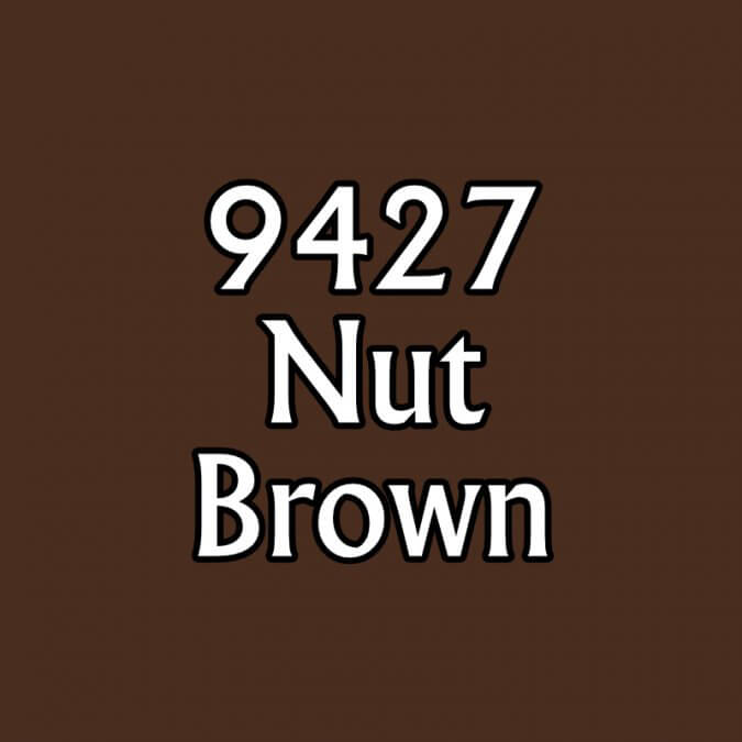 Paint (0.5oz) Reaper 09427 Nut Brown