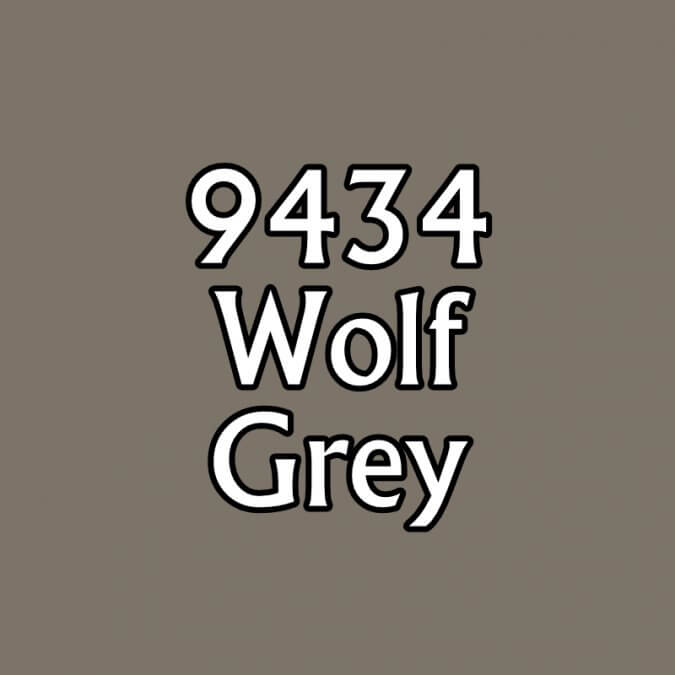 Paint (0.5oz) Reaper 09434 Wolf Grey