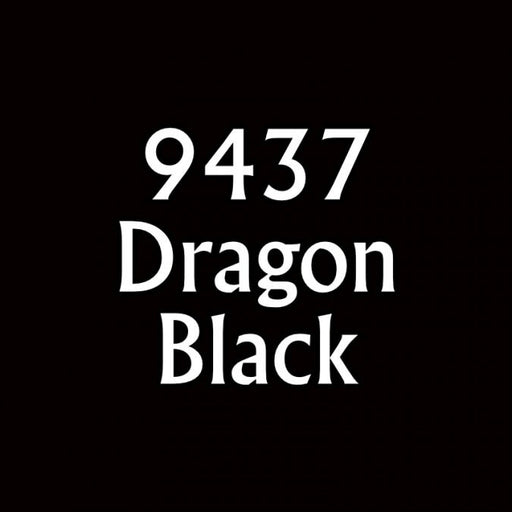 Paint (0.5oz) Reaper 09437 Dragon Black