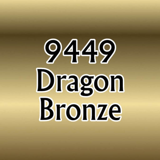 Paint (0.5oz) Reaper 09449 Dragon Bronze