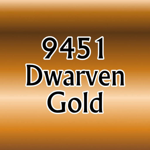 Paint (0.5oz) Reaper 09451 Dwarven Gold