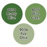 Paint Set (3ct) Reaper 09712 Olive Greens