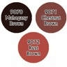 Paint Set (3ct) Reaper 09724 Red-Brown