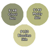 Paint Set (3ct) Reaper 09750 Undead Skin Tones