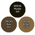 Paint Set (3ct) Reaper 09782 Soil Colors