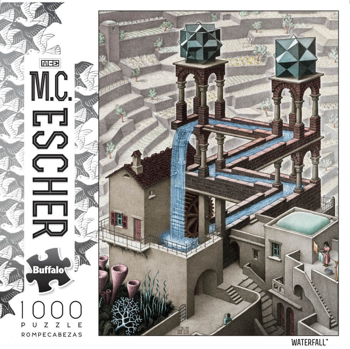 Puzzle (1000pc) M.C. Escher : Waterfall