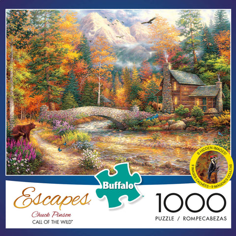 Puzzle (1000pc) Escapes : Call of the Wild