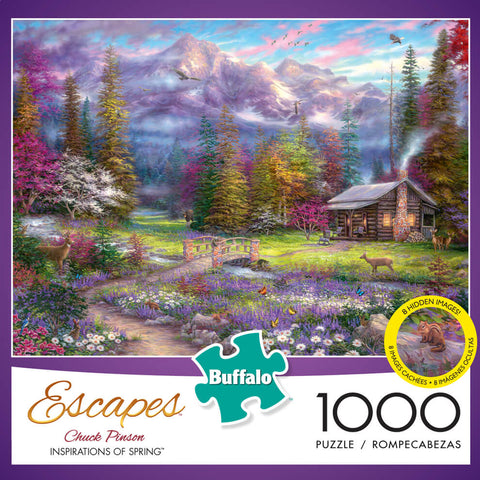 Puzzle (1000pc) Escapes : Inspirations of Spring