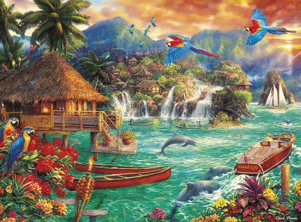 Puzzle (1000pc) Escapes : Island Life