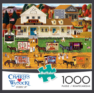 Puzzle (1000pc) Charles Wysocki : Storin' Up
