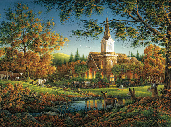 Puzzle (1000pc) Terry Redlin : Sunday Morning