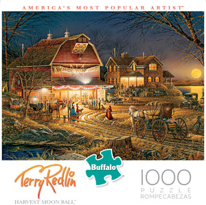 Puzzle (1000pc) Terry Redlin : Harvest Moon Ball