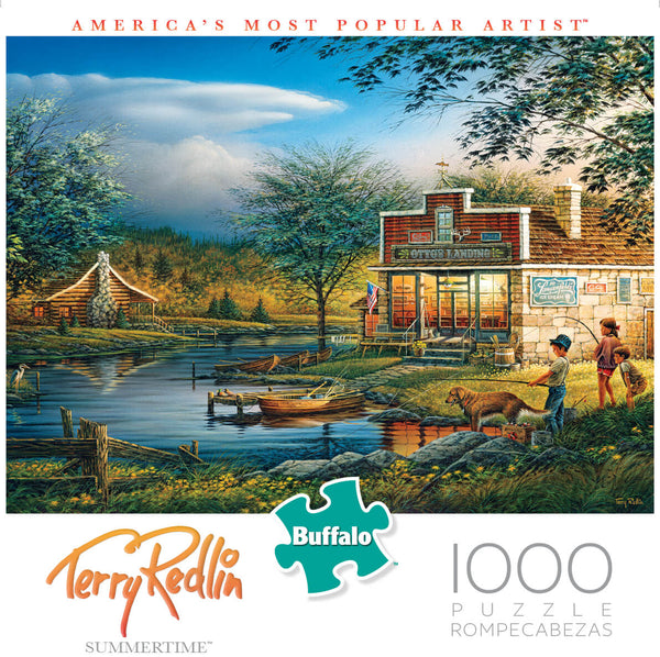 Puzzle (1000pc) Terry Redlin : Summertime