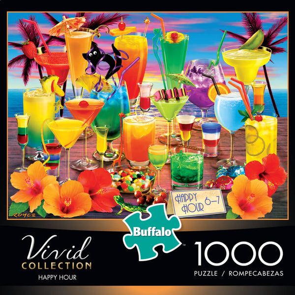 Puzzle (1000pc) Vivid : Happy Hour