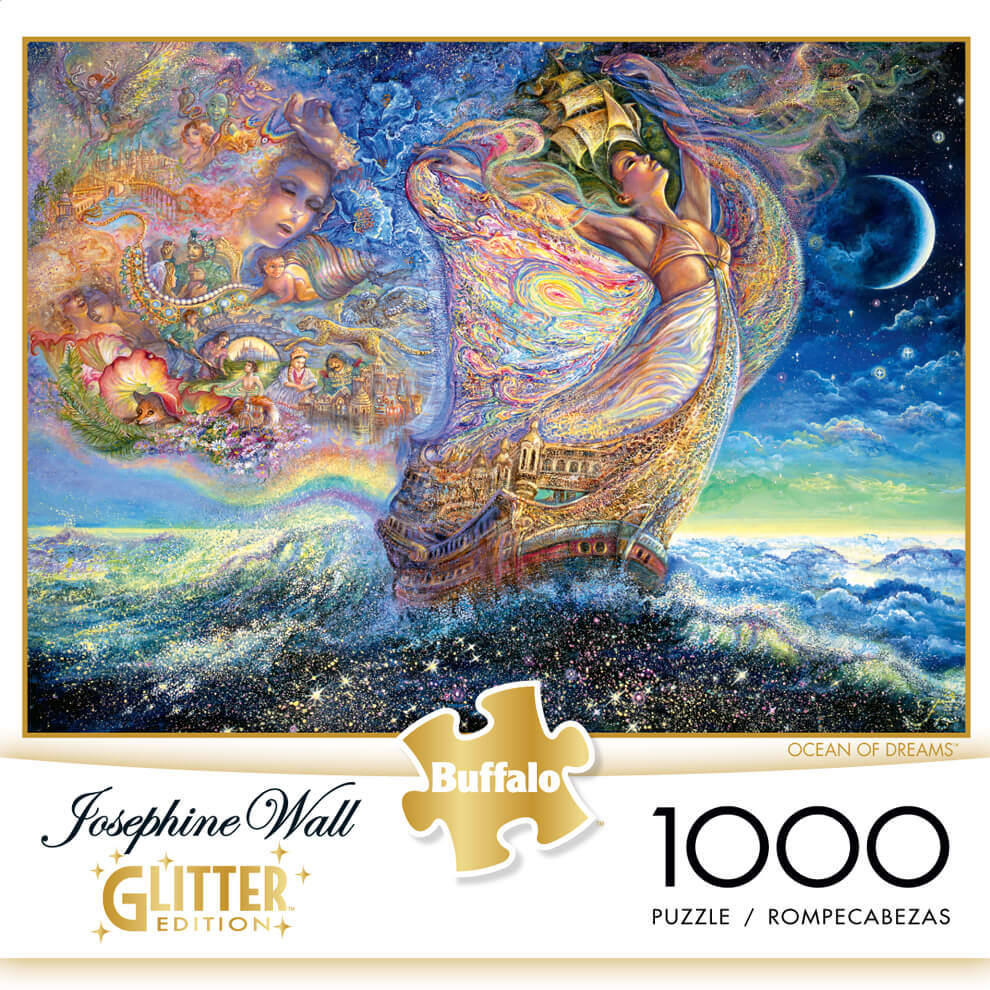 Puzzle (1000pc) Glitter : Ocean of Dreams