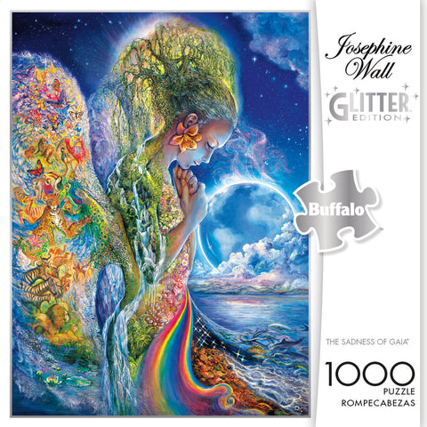 Puzzle (1000pc) Glitter : The Sadness of Gaia
