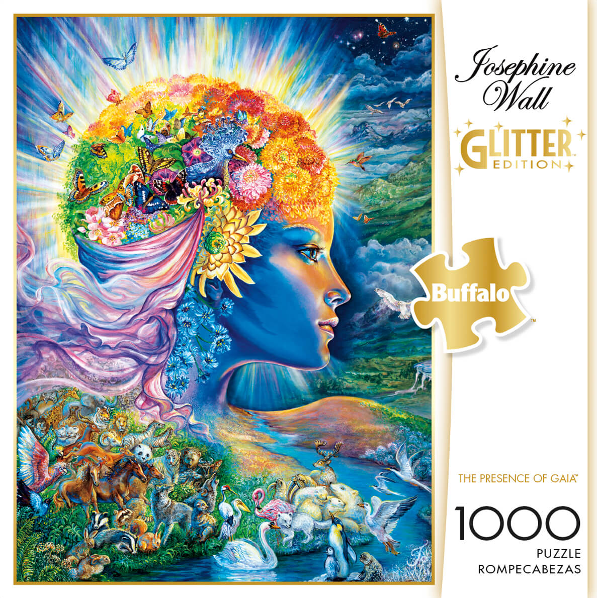Puzzle (1000pc) Glitter : The Presence of Gaia