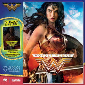 Puzzle (1000pc) Glow in the Dark : Wonder Woman