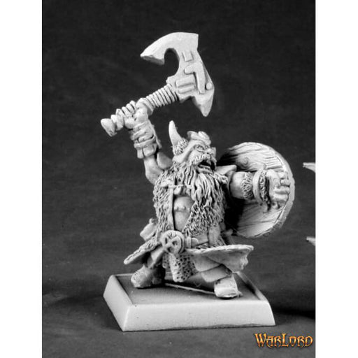 Mini - Reaper Metal 14588 Rune Warrior Krgmr (Dwarf Male)