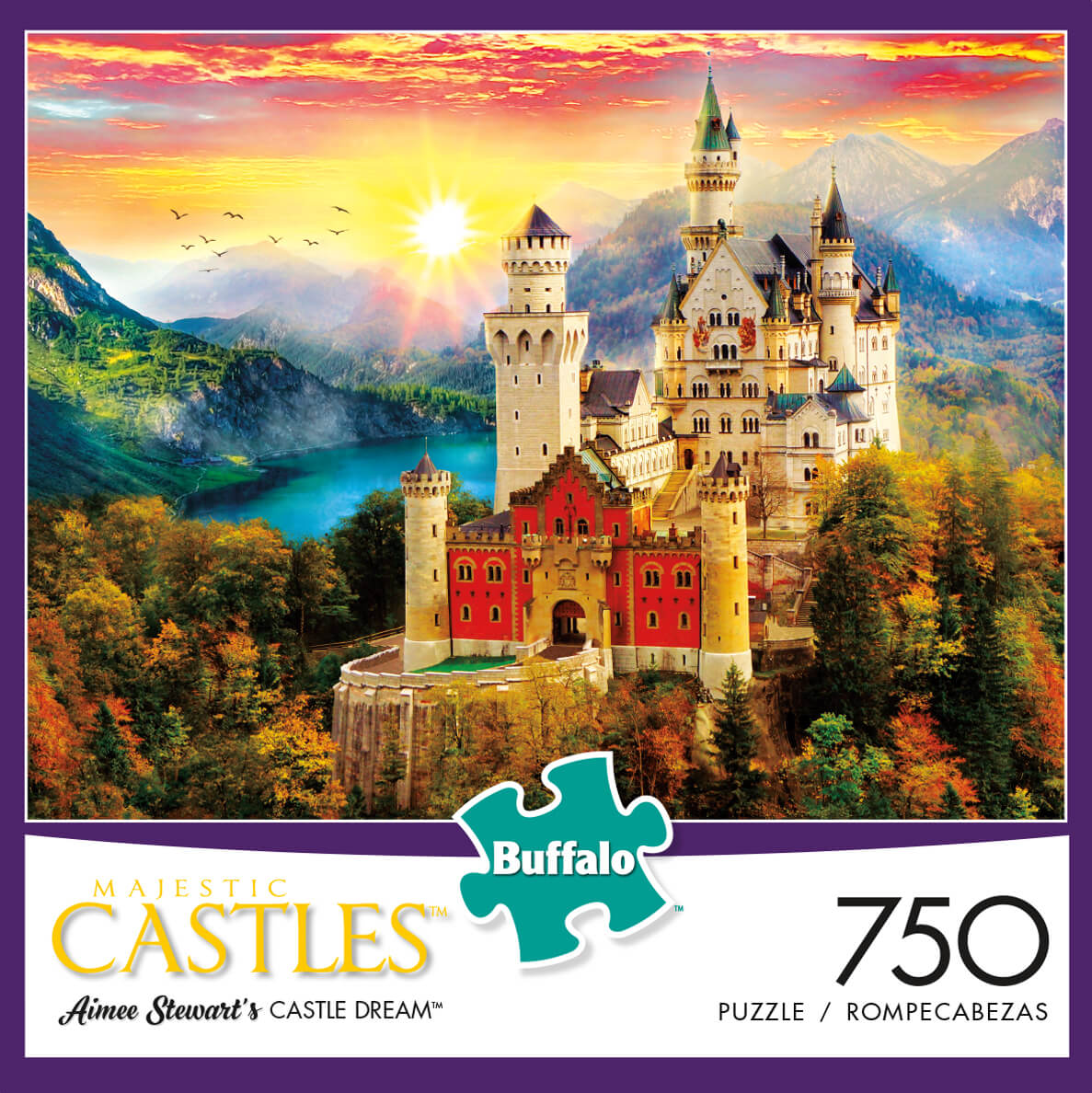 Puzzle (750pc) Majestic Castles : Castle Dream