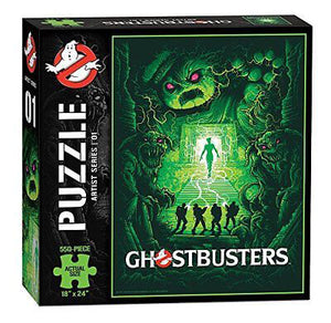 Puzzle (550pc) Ghostbusters : 1 Artist Series