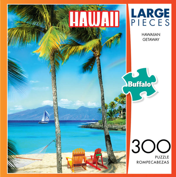 Puzzle (300pc) Large Pieces : Hawaiian Getaway