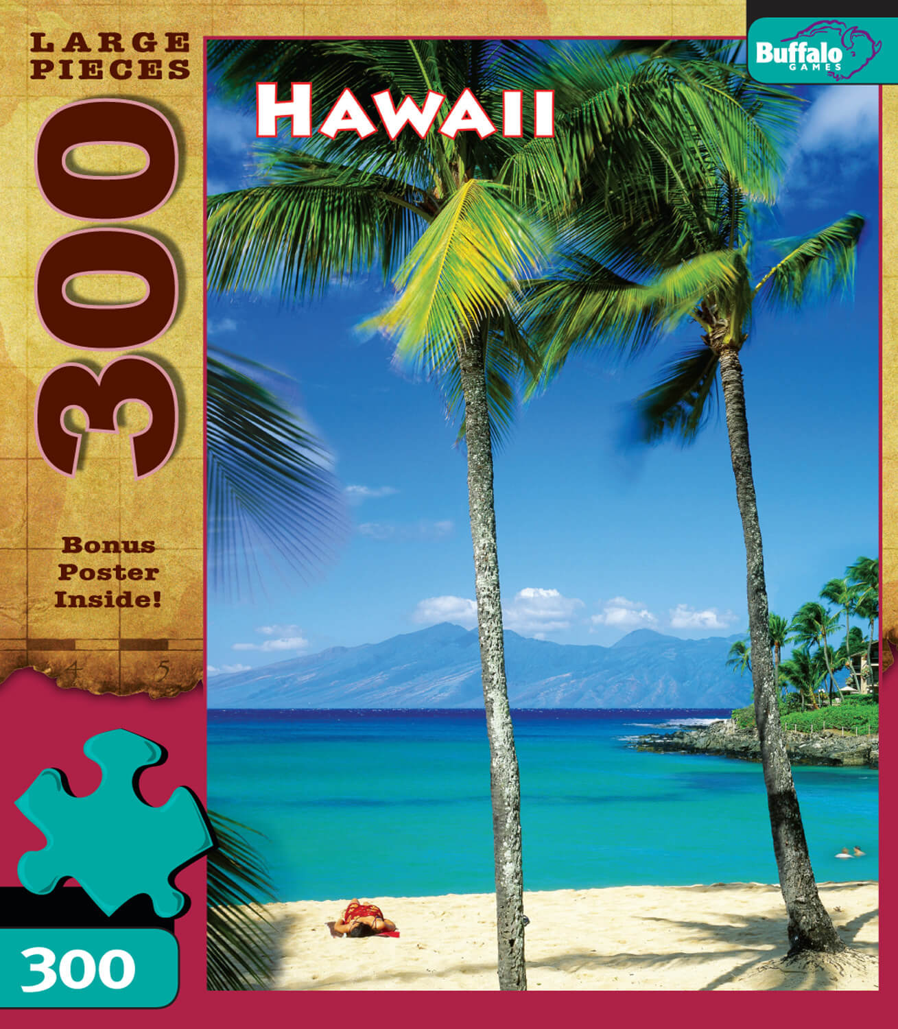 Puzzle (300pc) Travel : Hawaii