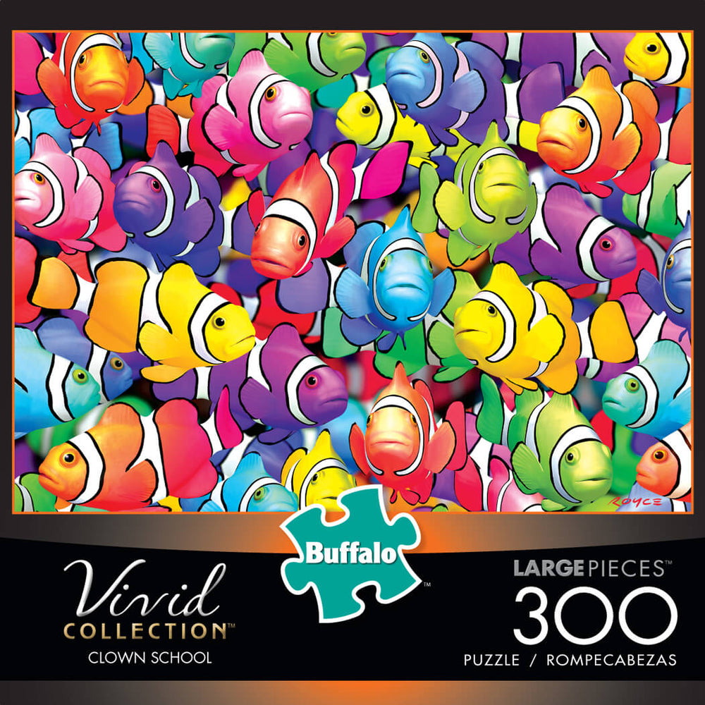 Puzzle (300pc) Vivid : Clown School