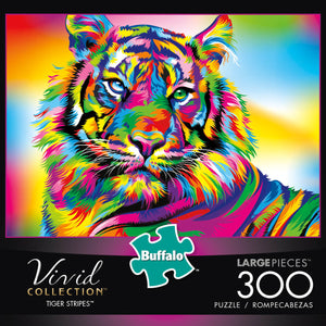 Puzzle (300pc) Vivid : Tiger Stripes