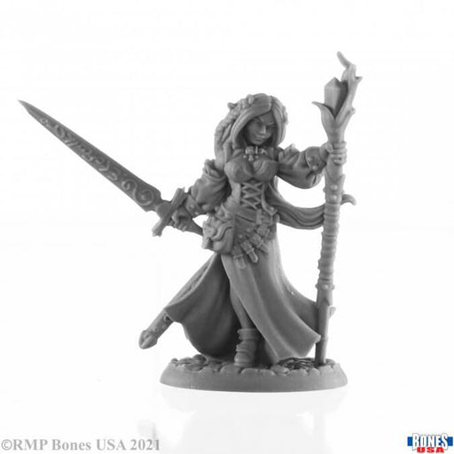 Mini - Reaper Bones USA 30001 Lysette Elven Mage (Female)