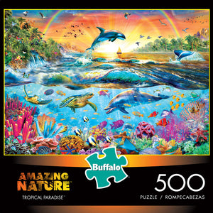 Puzzle (500pc) Amazing Nature : Tropical Paradise