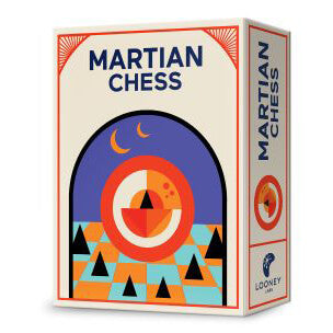 Looney Pyramids Martian Chess (Red)