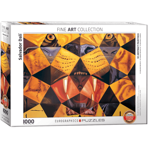 Puzzle (1000pc) Fine Art : 50 Abstract Paintings