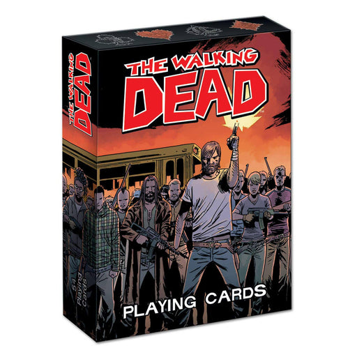 Playing Cards The Walking Dead