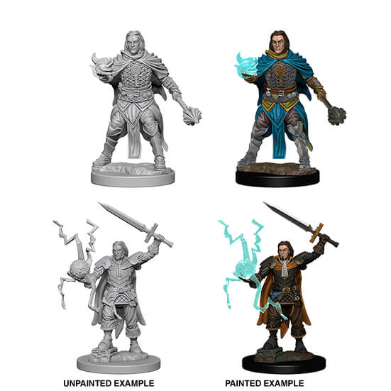 Mini - Pathfinder Deep Cuts : Human Cleric (Male)