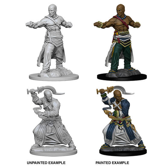 Mini - Pathfinder Deep Cuts : Human Monk (Male)