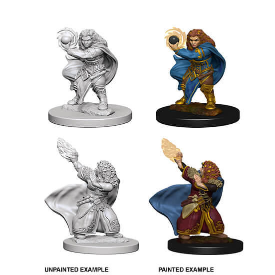 Mini - D&D Nolzur's Marvelous : Dwarf Wizard (female)