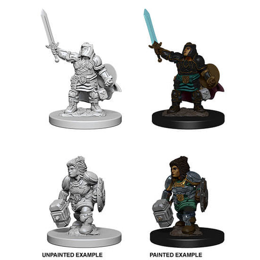 Mini - D&D Nolzur's Marvelous : Dwarf Paladin (Female)