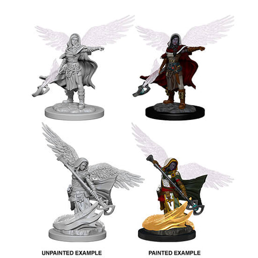 Mini - D&D Nolzur's Marvelous : Aasimar Wizard (Female)